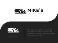 Mike's Mountain Rentals  Logo
