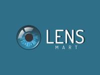 Lens Mart Logo by Tayyab Tanveer