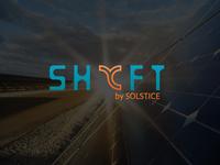 SHYFT by Solstice Logo Design