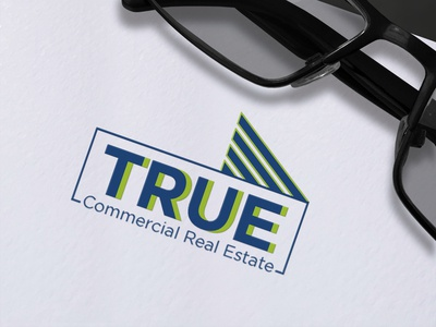 TRUE Commercial Real Estate Logo Design