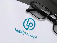 Legal Passage Logo Design