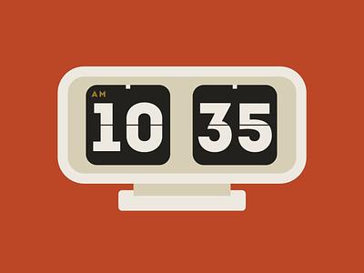 time teller vintage clock time color vector design illustration illustrator