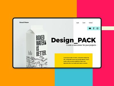 Web Header design freelance custom editable design branding creativity download template freebie free