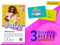 Free Retro Colorful Branding Pack Miami Girls
