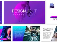 Design Light Free PowerPoint Presentation