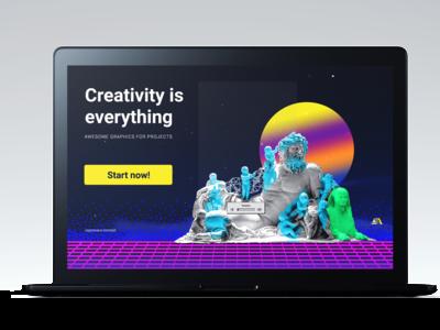 Custom Projects Design By Graphic Traffic service design free creativity start up logo projects create logo vapor wave icons branding custom design
