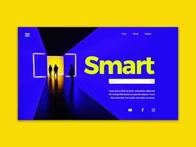 Smart header design Template website design web creativity freelance landing page 网页设计 graphic download free custom webdesign design header template