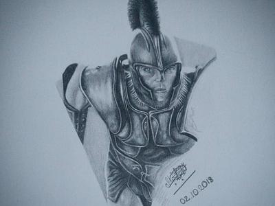 Achilles (Troy) bw troy achilles