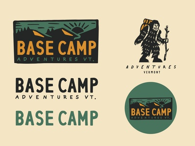 Basecamp Brand Exploration #2 typography customtypography branding logodesign logo vector design illustration graphic