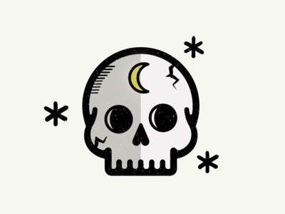 Cute skull from rejected logo