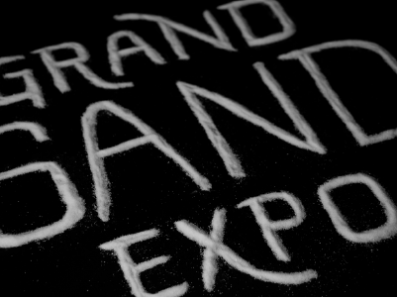 Grand Sand Expo Lettering