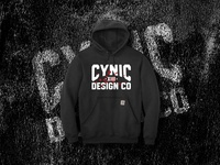 Cynic Goon Hoodie design screenprint bellingham branding vector washington pnw logo illustration typography