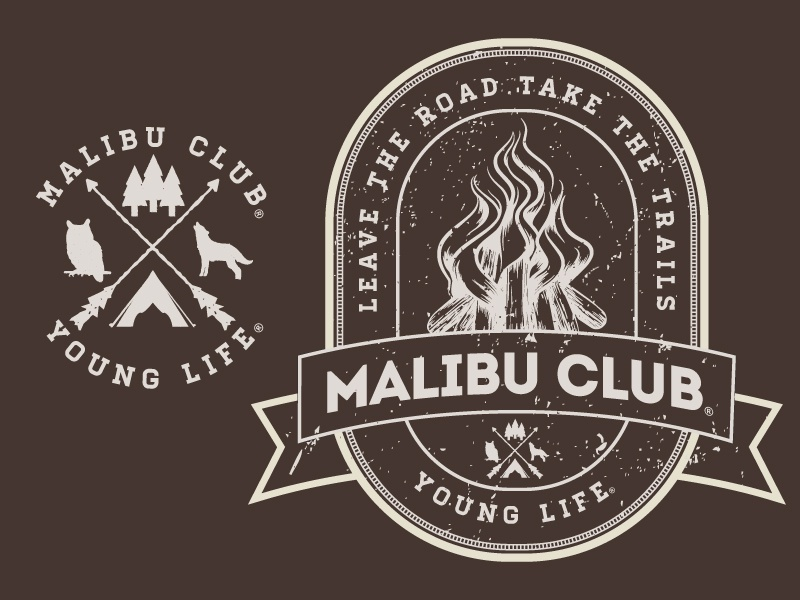 Vintage Camp Badge by Nick Serianni on Dribbble