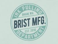 Brist Mfg. Department of Ink Pulling 2