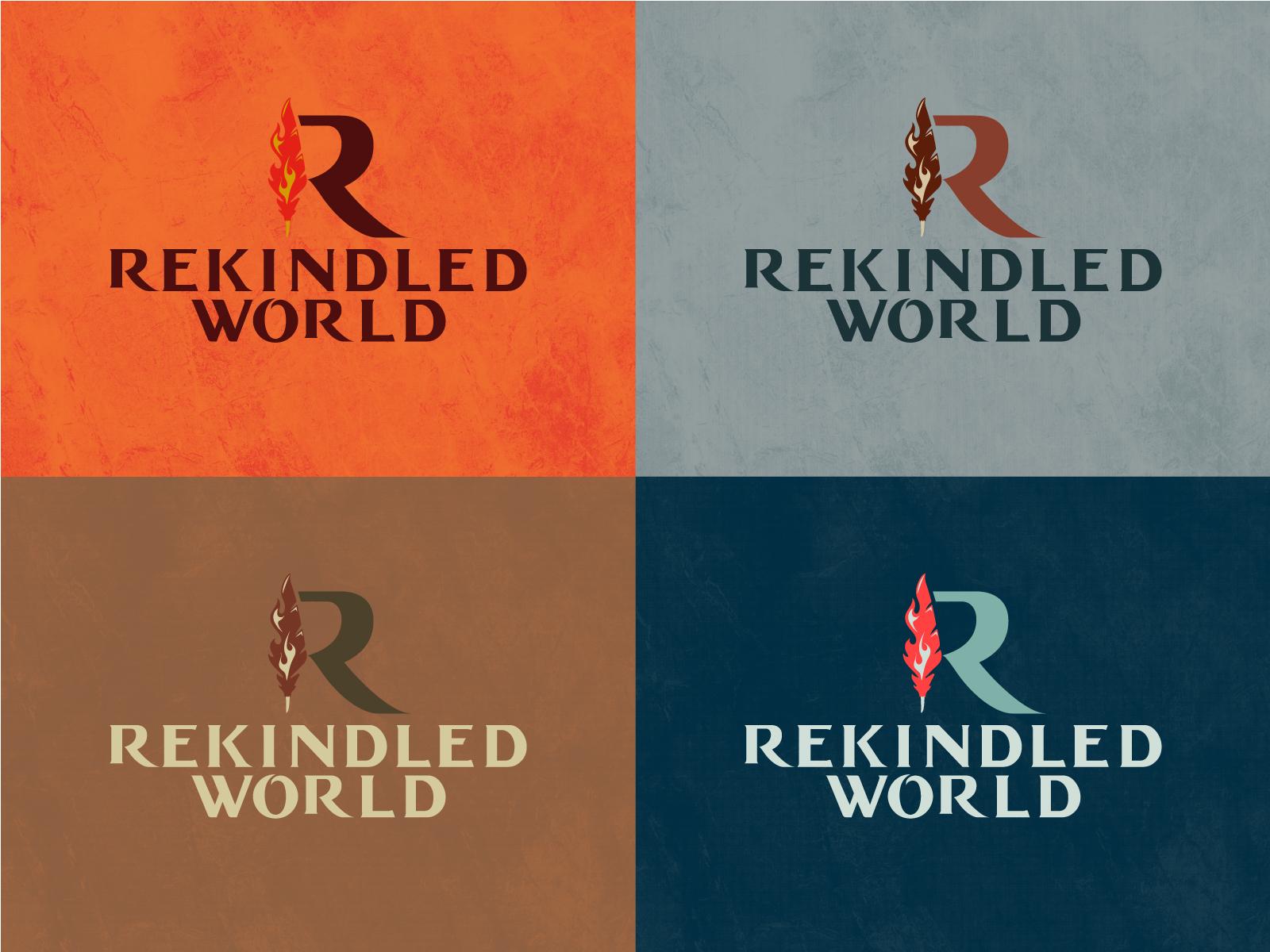 Rekindled world logos r1