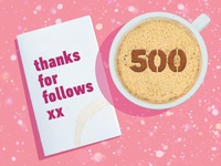 Coffee For 500 Followers