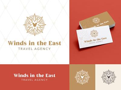 Disney Travel Agency - Branding - Winds in the East walt disney travel agency mary poppins branding logo travel disney world disney