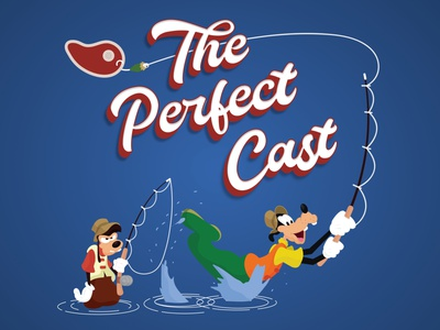 The Perfect Cast disney goofy mickey illustration