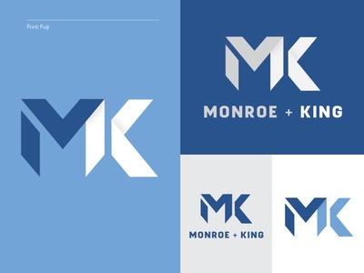 Monroe + King Athletic Co. 2/4 - Clients Choice combine shop mk women letters apparel athletic branding logo