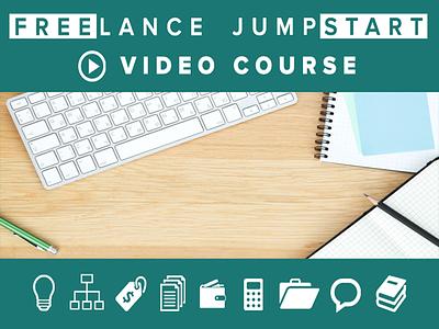 Freelance Jumpstart Video Crash Course design digital branding nathan allotey blog quote free business freelance