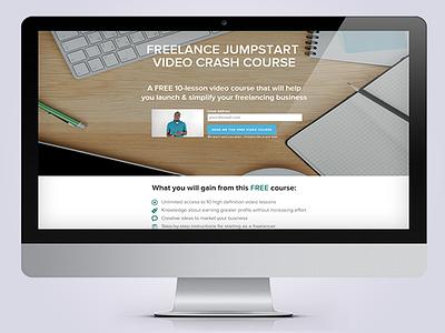 Freelance Jumpstart Course Website design digital branding nathan allotey blog quote free business freelance