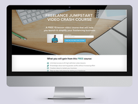 Freelance Jumpstart Course Website