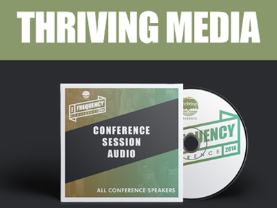 Thriving Media CD Cover audio media thriving session conference cd frquency temple philadelphia