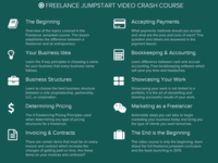 Resdesign Freelance Jumpstart Course Content
