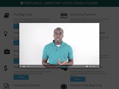 Resdesign Freelance Jumpstart Course Video freelance business free quote blog nathan allotey branding digital design