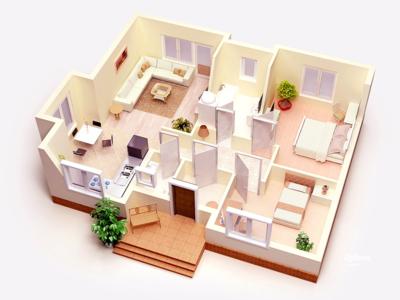 3d plan cottage