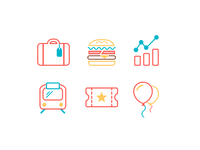 Benefits & Perks icons