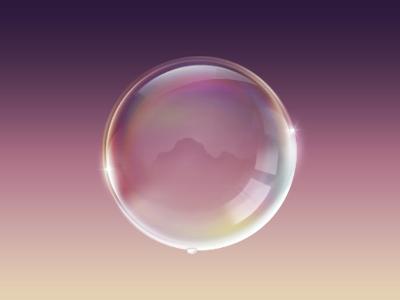 Seifenblase Icon illustration icon bubble bubl booble bbl gloss wet photoshop ball kajdax