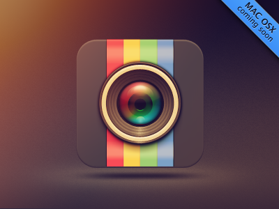 Instagrille Icon cats icon illustration app pixel foto food design lense instagram pokki instagrille photoshop