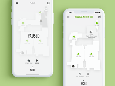 Pause Home Cleaning & Skip A Room maps interaction design visual design motion design 2d vector animation interface design app mobile concept digital ux ui clean minimal flat