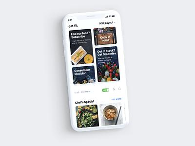 Beautiful Cross-Selling 2d flat clean visual design mobile design ux ui app
