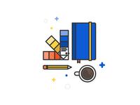 Sketchbook icon - WIP