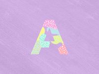 Letter A for #36daysoftype