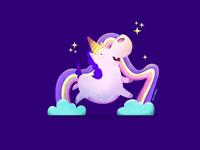 Unicorn hippo