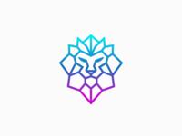 Lion Head - Digital Logo