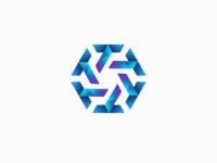 Letter T 3D Logo