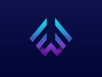 LETTER WF Logo