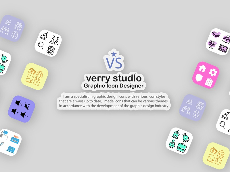 Landing page for graphic designer portfolios