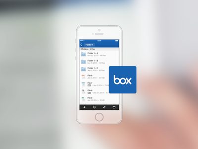 Box for iPhone® and iPad®