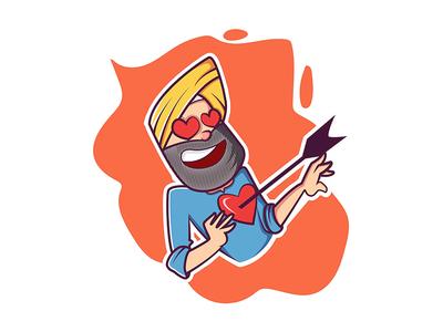 Punjabi Man In Love Stuck