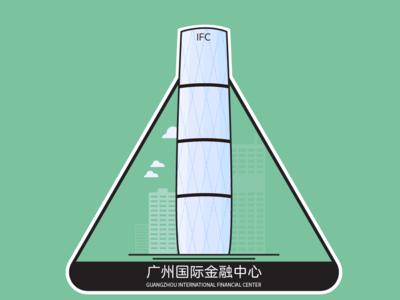 地标图形 | 广州国际金融中心