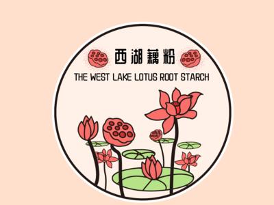 地标图形 | 西湖藕粉