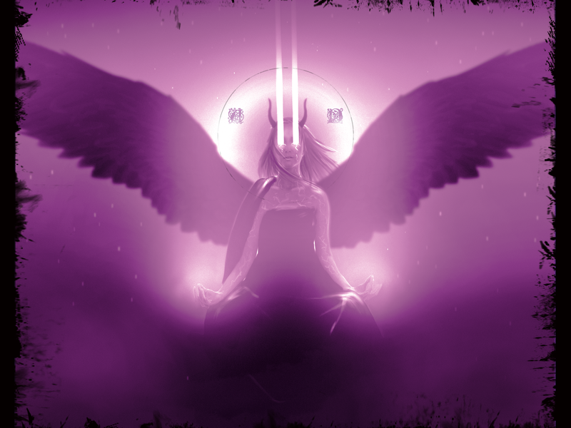 Dark Angel card  game drawing painting promo art portrait concept art poster art creature fantasy character digital 2d character design digital art illustration