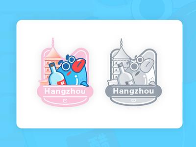 Badge badge colors ai branding app logo personnal beautiful girl bright illustration image