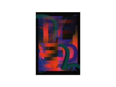 flip illustration ux ui lettering branding type posters elwips typography typographic swiss print design poster design poster graphic design design