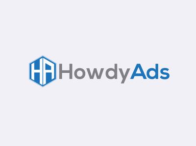 HowdyAds Logo design letter logo logo business logo banding design unique logo logo design comapany it point company logo logo design ads logo